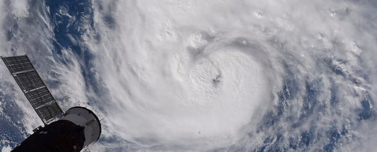 A brief-but-haunting video released by NASA on Thursday night shows Hurricane Harvey's powerful churn toward central Texas, where the slow-moving storm is expected to throttle coastal communities with high winds and up to 25 inches (63 cm) of rain.