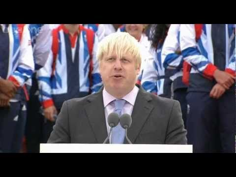 Boris Johnson's Speech - Our Greatest Team: Athletes' Parade Live. Fair play to Boris - he can get away with anything