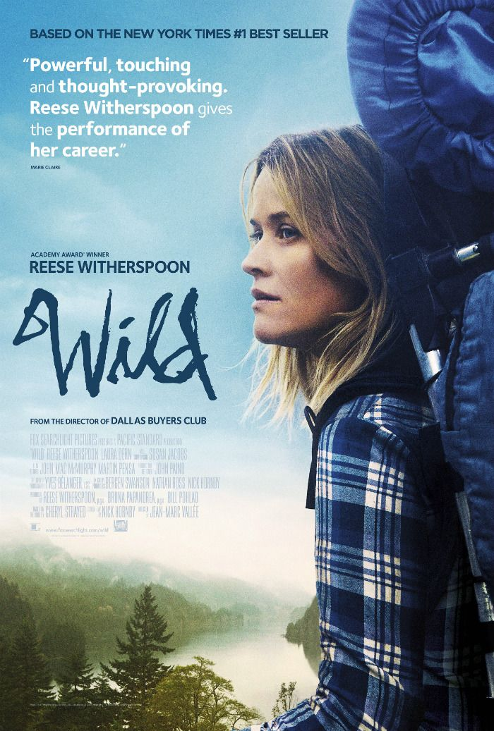 UK Poster For Jean Marc Vallée's 'Wild' – Starring Reese Witherspoon As Cheryl Strayed
