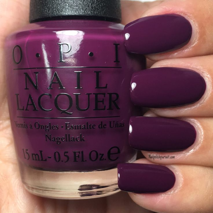 Kerry Blossom (Special edition shade) from the Fall/Winter 2016 Washington D.C. Collection by OPI    Nailpolishpursuit.com