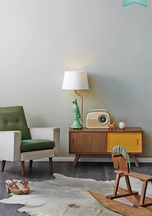 Schön Moderne Lebhafte Farben Wohnzimmermöbel Schaukelpferd