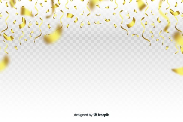 Download Luxury Background With Golden Confetti Falling Down For Free Vector Free Luxury Background Free Birthday Stuff