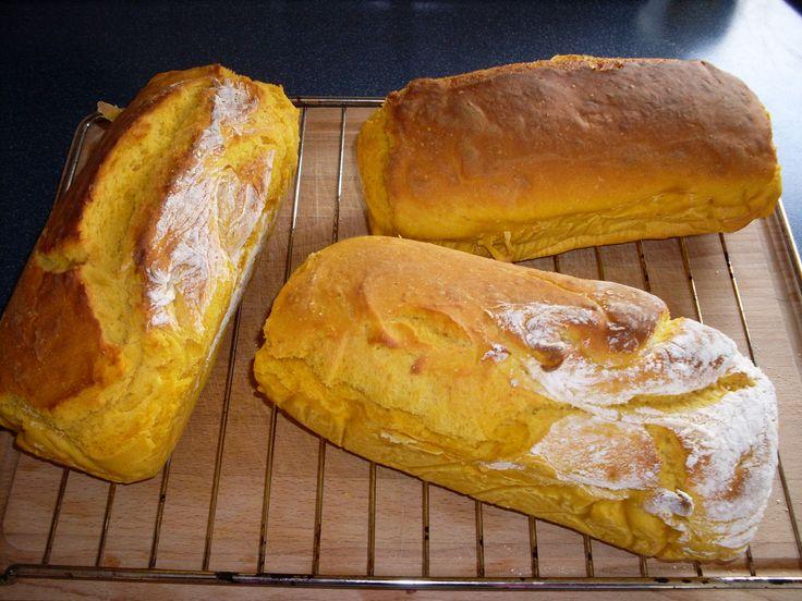 Rezept Kürbisstuten wie vom Bäcker von tolle trudi - Rezept der Kategorie Brot & Brötchen (Vegan Bake Bread)