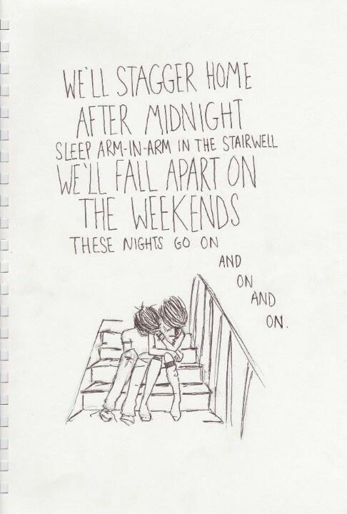 Blink 182 - After Midnight,  we always do