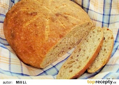 Chléb uchováváme zabalený v utěrce