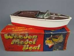 Image result for vintage japanese model boat kits