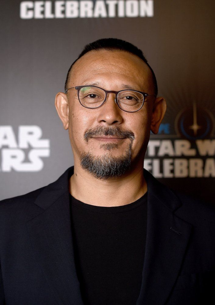 Wen Jiang at Rogue One: A Star Wars Story