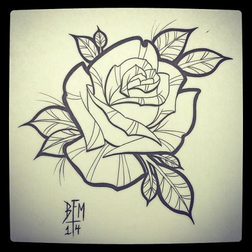 Las 25+ mejores ideas sobre Tatuajes de rosa tradicionales ...