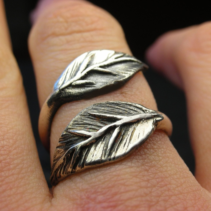Leaves: Style, Sterling Silver, Feather Ring, Rings, Jewelry, Leaf Ring, Leaves, Leafring
