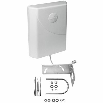 Wilson 314473 - Pole Mount Panel Antenna 700-2700 MHz 75 Ohm Verticaly Polarized w/ F Female Connector - Cell Phone Signal Booster by weBoost / Wilson Electronics