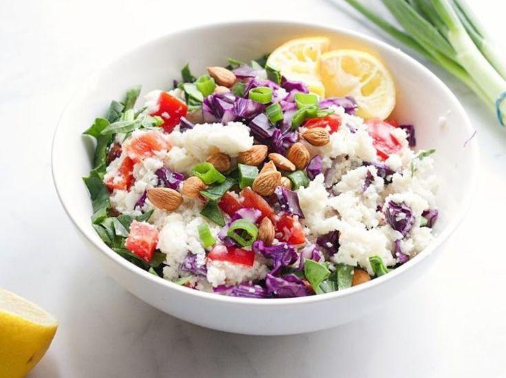 DIY-Anleitung: Blumenkohl-Salat mit Mango zubereiten via DaWanda.com
