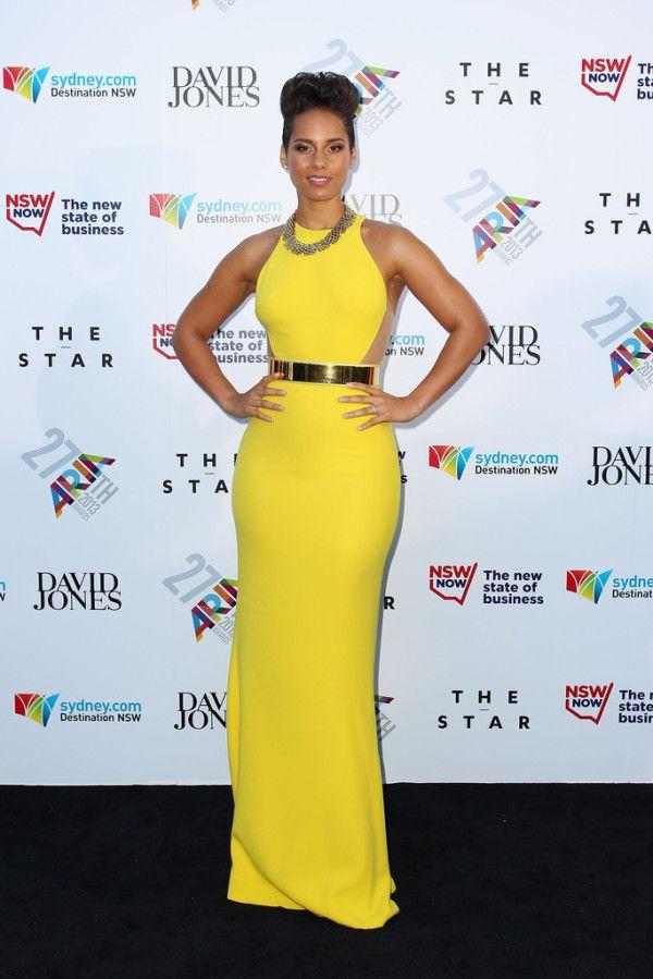 Alicia Keys in Stella McCartney
