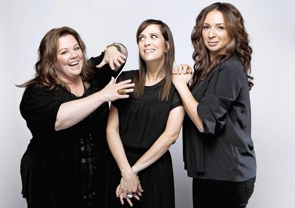 Melissa McCarthy, Kristen Wiig & Maya Rudolph....Bridemaids