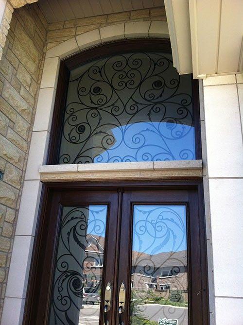 38 best Wrought Iron Fiberglass Doors images on Pinterest ...