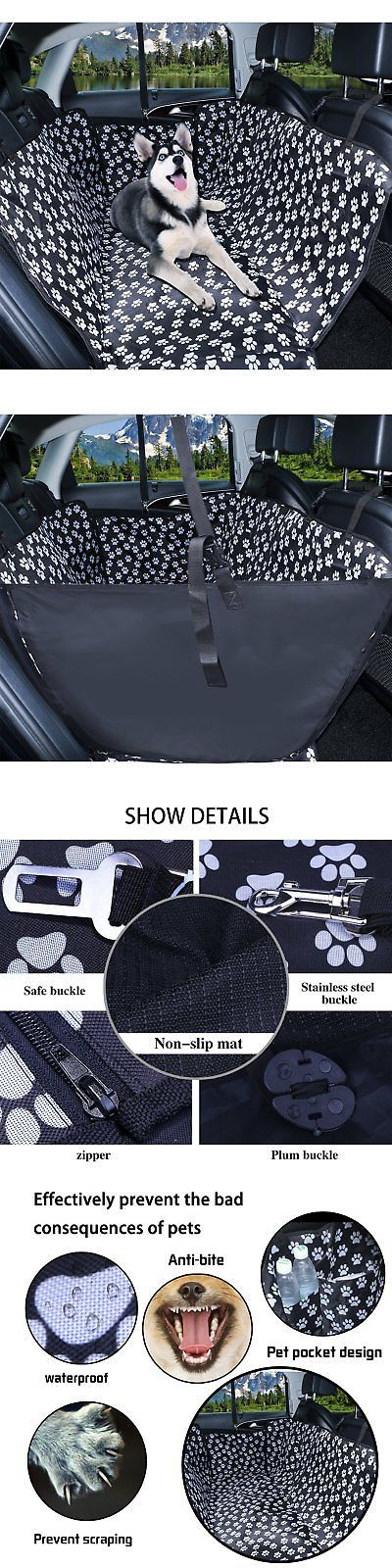 Car Seat Covers 117426: Dog Seat Cover, Pet Car Seat Covers For Trucks And Suvs, Waterproof And Nonslip -> BUY IT NOW ONLY: $41.3 on eBay!
