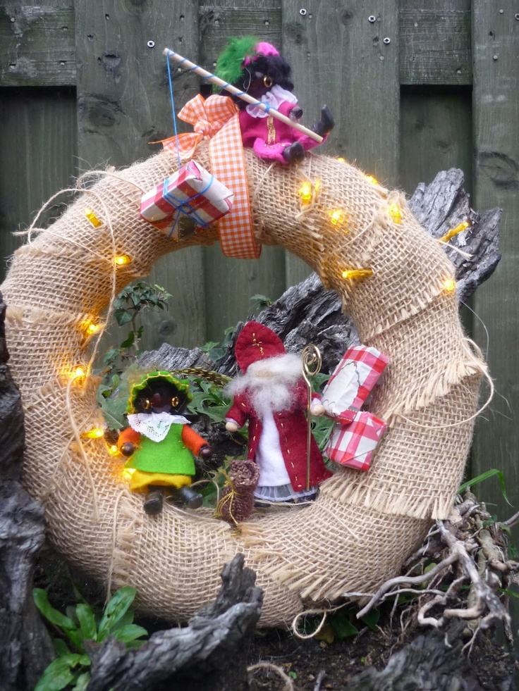 sinterklaas wreath
