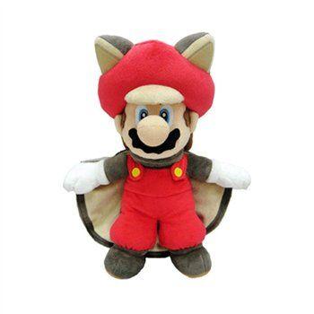 MARIO FLYING SQUIRREL PLUSH Direttamente da New Super Mario Bros U, un peluche da 21 cm di Mario con il costume da Scoiattolo Volante. Materiali di qualità, licenza ufficiale Nintendo. - Maggiori dettagli: http://www.thegameshop.it/it/peluche/500-nintendo-mario-flying-squirrel-21cm-3700789290087.html#sthash.WRxp6NWc.dpuf