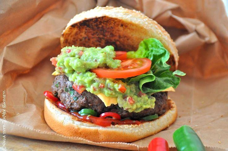 domowe hamburgery meksykańskie