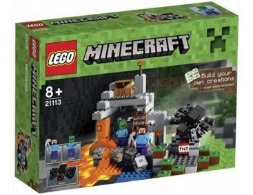 The Lego Minecraft Cave - a great selection of Lego construction sets at Wonderland Models. One of our favourite sets in the Lego Minecraft Range is The Cave set.