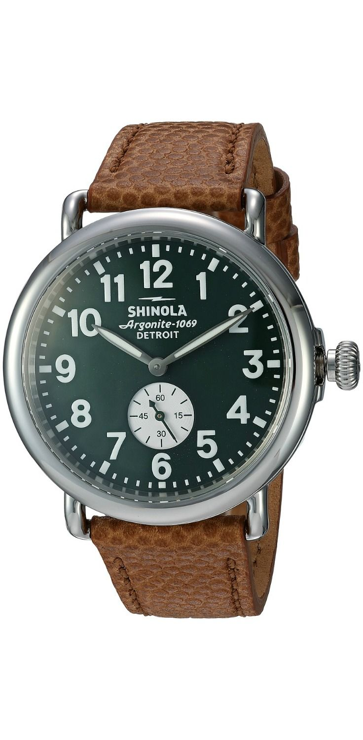 Explore a fantastic future with this time machine, #Shinola #Detroit The Runwell #timepiece.  #watch #timepieces #watches #jewelry