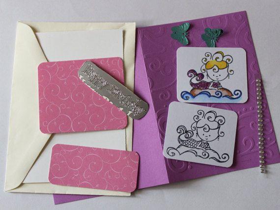 Mermaid Card Kit