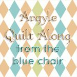 from the blue chair: Argyle Quilt Along: Cutting your fabric Step 1