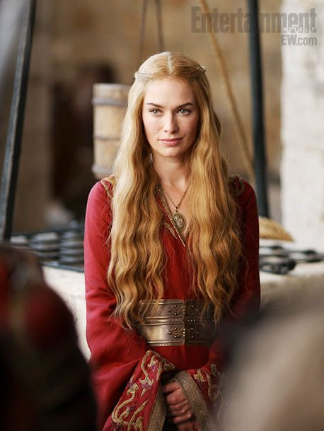 Cersei Lannister (Lena Headey) in The Game of Thrones second season coming on HBO next april