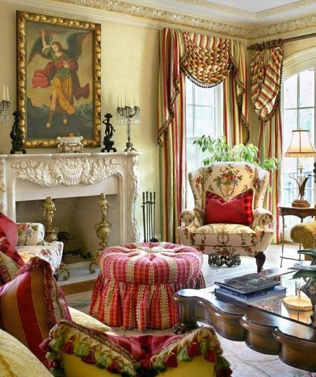 1655 best french and victorian decorating for French country style living room