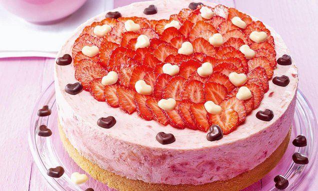 Herztorte Rezept Torte Ohne Backen Rezepte Und Backen