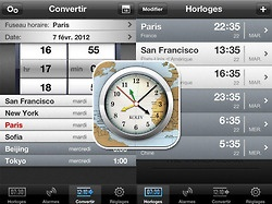 The World Clock, a must for travellers