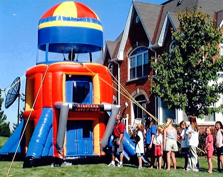 Airborne Adventure Inflatable Chicago Party Rentals