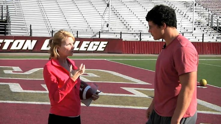 Jaymer Parker talks to BC Football star Luke Kuechly
