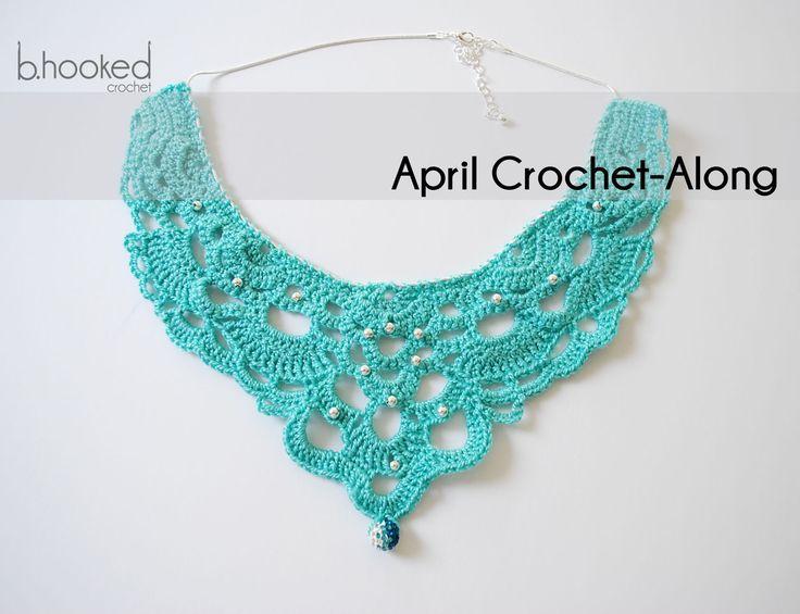 96 best crochet choker images on Pinterest | Crochet jewellery ...