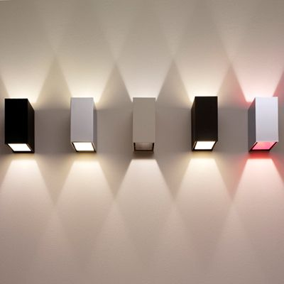 modern lighting applied on wall & Best 25+ Modern wall lights ideas on Pinterest | Wall lamps Wall ... azcodes.com