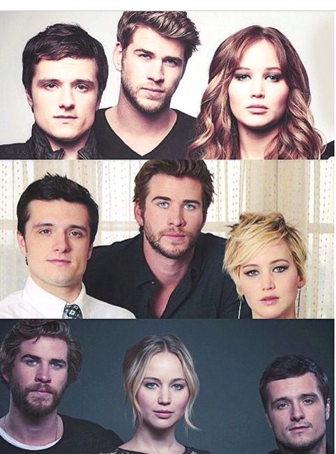 Gale got uglier since the first one and then the opposite happened to Jennifer Lawerence and then Josh Hutherson just stayed the same..........HOT!!!! <3