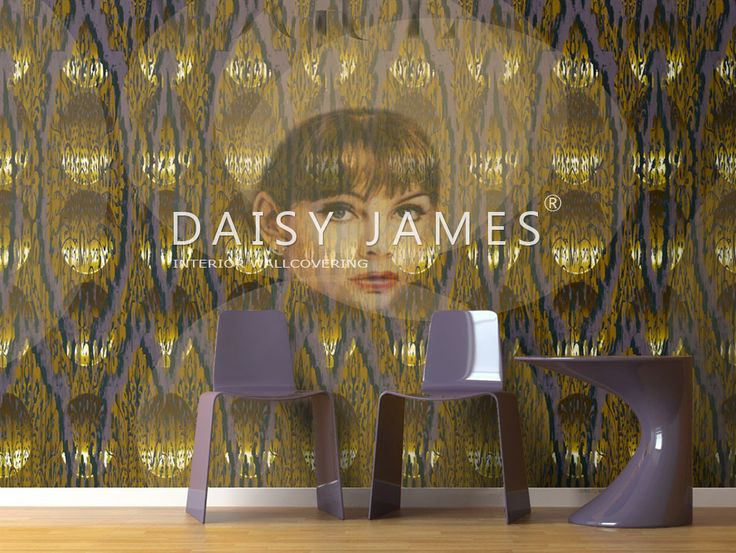 DAISY JAMES wallcover The Smooth