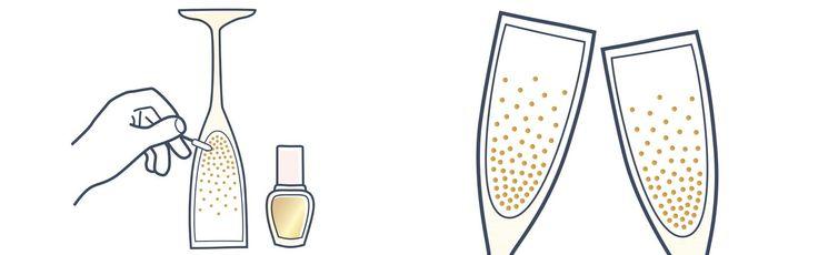 Champagnergläser Deluxe