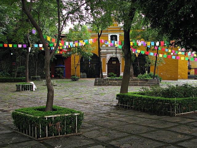 Plaza Santa Catarina, Coyoacan, Mexico, D.F.