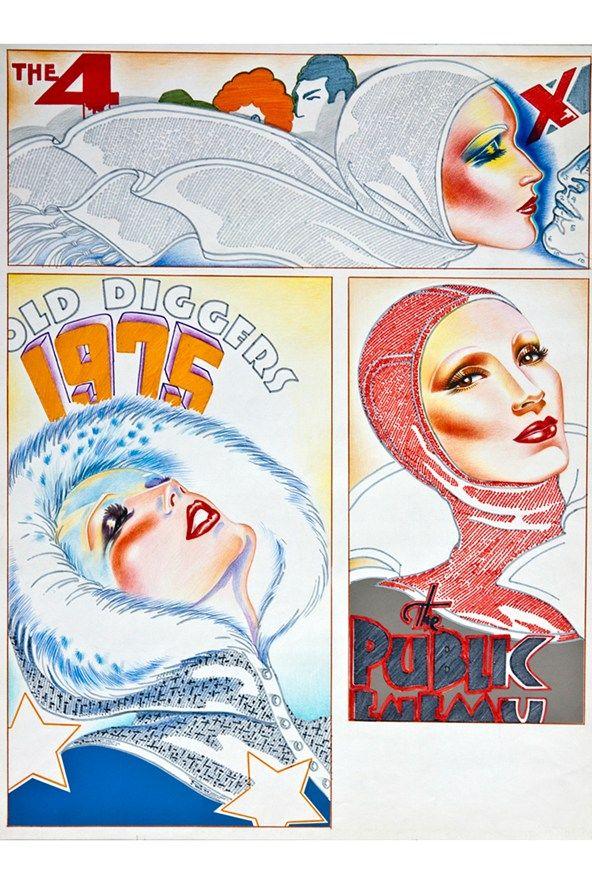Roland Mouret Antonio Lopez Illustration Exhibition (Vogue.com UK)