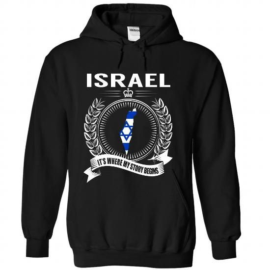 Israel - Its Where My Story Begins - #pullover hoodies #college sweatshirts. LIMITED TIME  => https://www.sunfrog.com/States/Israel--Its-Where-My-Story-Begins-cspcimrfex-Black-Hoodie.html?60505(InJapanese:「イスラエル・・私の物語はここからはじまる」ロゴいりプルオーバー)