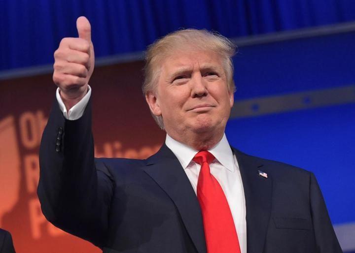 Donald Trump the republican Debate for GOP