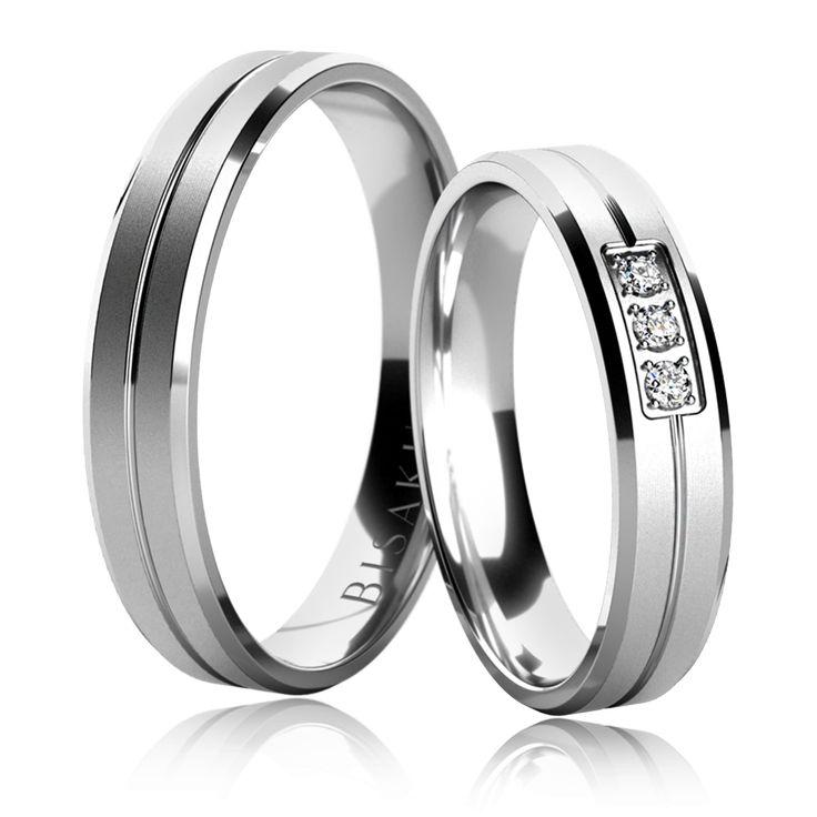 Snubní prsten, model č. 4843/3
