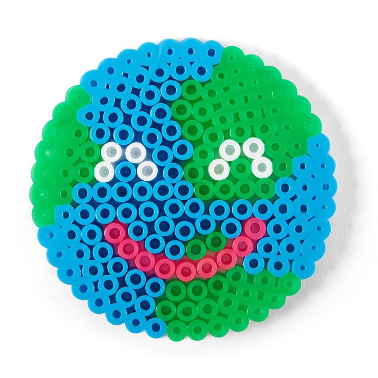 Help the little ones make this DIY Kids Club® Perler® Planet Earth