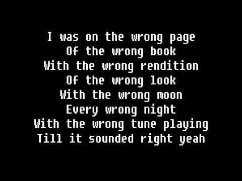 Depeche Mode - Wrong Lyric Video
