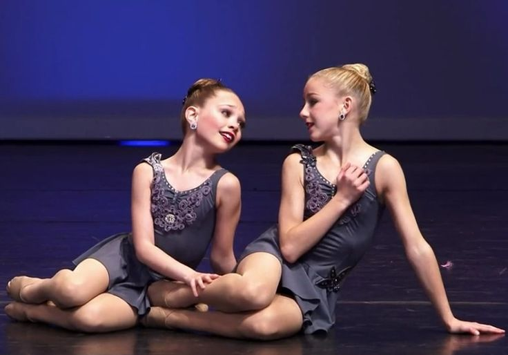 Dance Moms Chloe and Maddie doing a duet | Chloe and ...