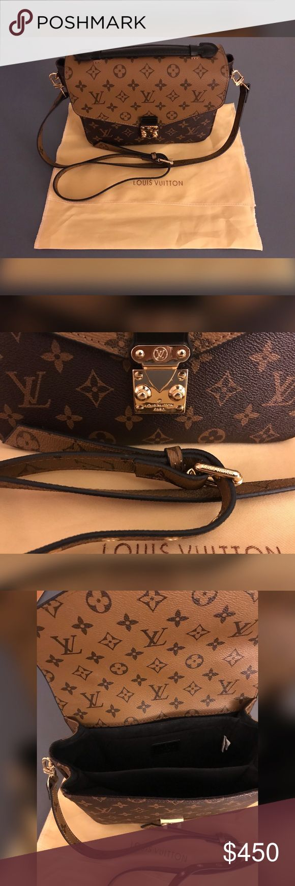 New bag New bag , 1:1 high mirrored quality bag , Not authentic not trying to fool anyone , comments are welcomed if you are interested , no low ballers as this bag is hard to find as a rep Louis Vuitton Bags Crossbody Bags