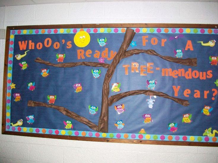 owls bulletin boards | owl bulletin board borders | Bulletin Board Ideas & Designs