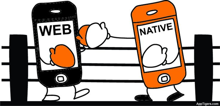 Native or web app mobile application development