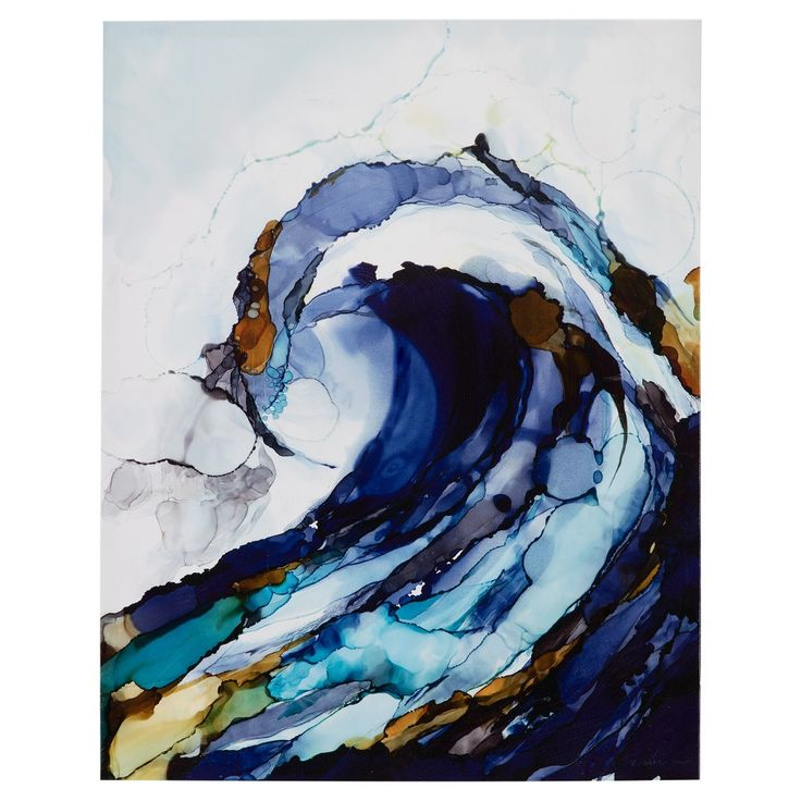 liquid waves gel coat canvas 2 piece set blue painting on home office paint colors 2021 id=20266