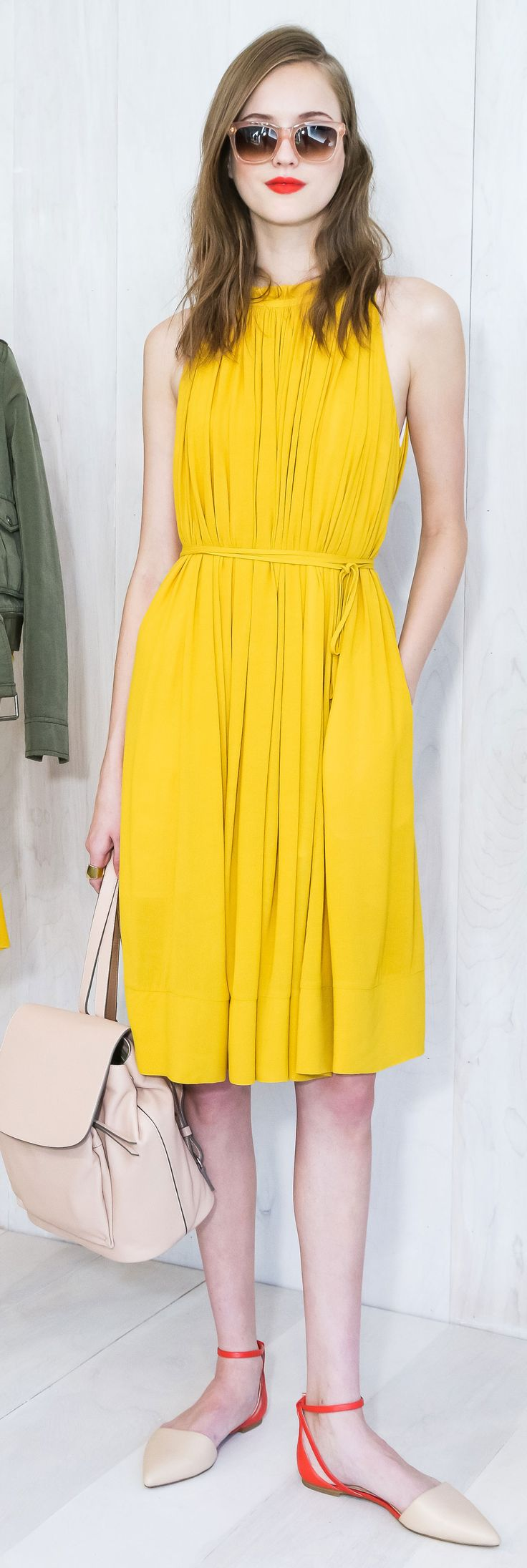 Banana Republic Spring 2015 collection is filled with bright color